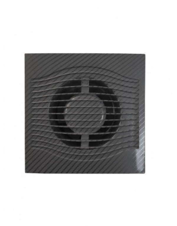 BB-ERA VENTILATOR 19.0276/F100 SLIM 4C CARBON CRNI