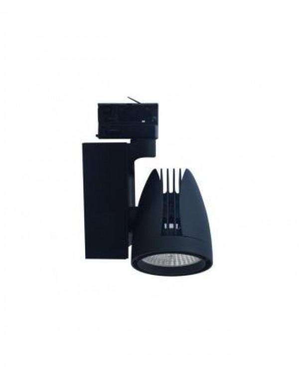 BB-LED REFLEKTOR SINSKI 50.0297/337201-2 30W 4000K CRNI