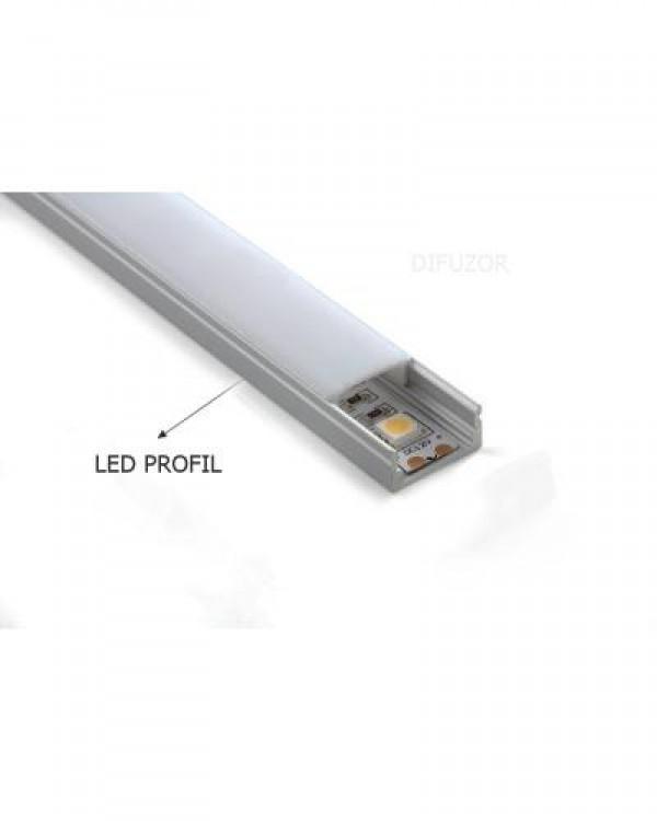 BB-LED PROFIL 04.0328/LL-P002-R