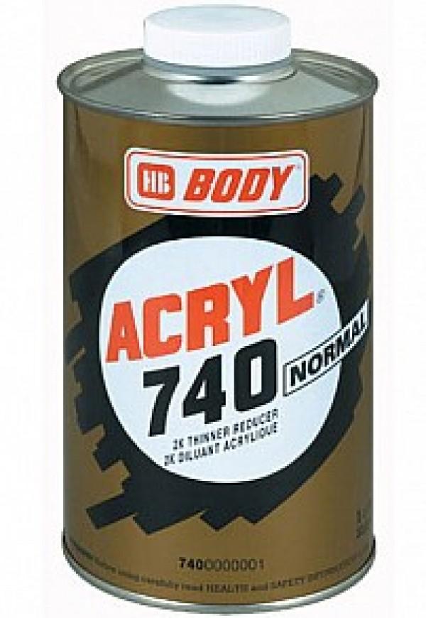 BODY-ACRYL 740 NORMAL 0.5