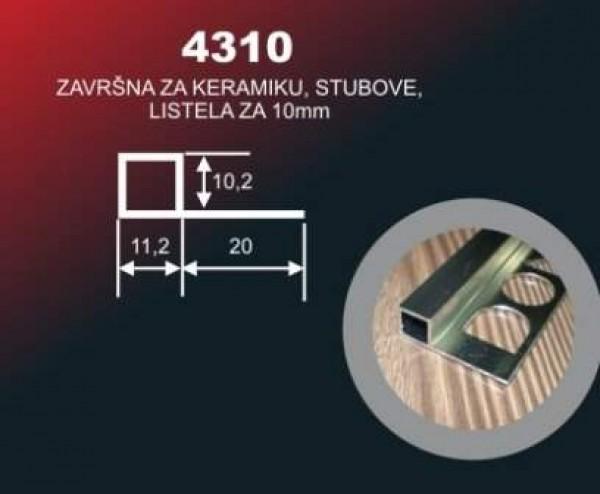 ALU LAJSNA 4310/SR BR SJ-1590 2.7M