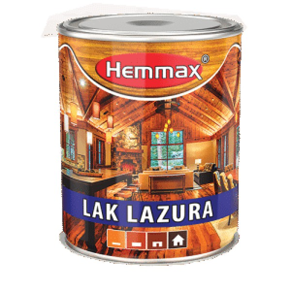 HEMMAX LAK LAZURA 2.5l-9 PALISANDER