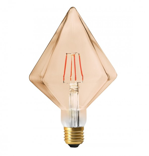 LYNCO-630700001 FILAMENT LED E27 4W 2000K PIRAMIDA