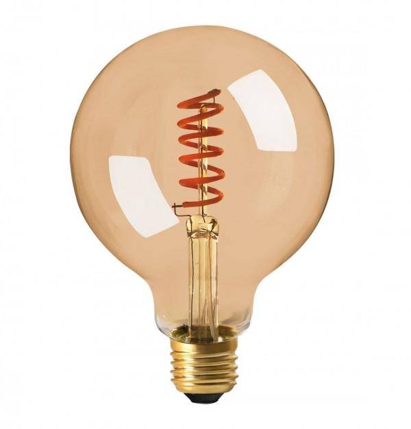 BOMAX-FILAMENT LED E27 2W 2000K G125 SPIRAL-630700009
