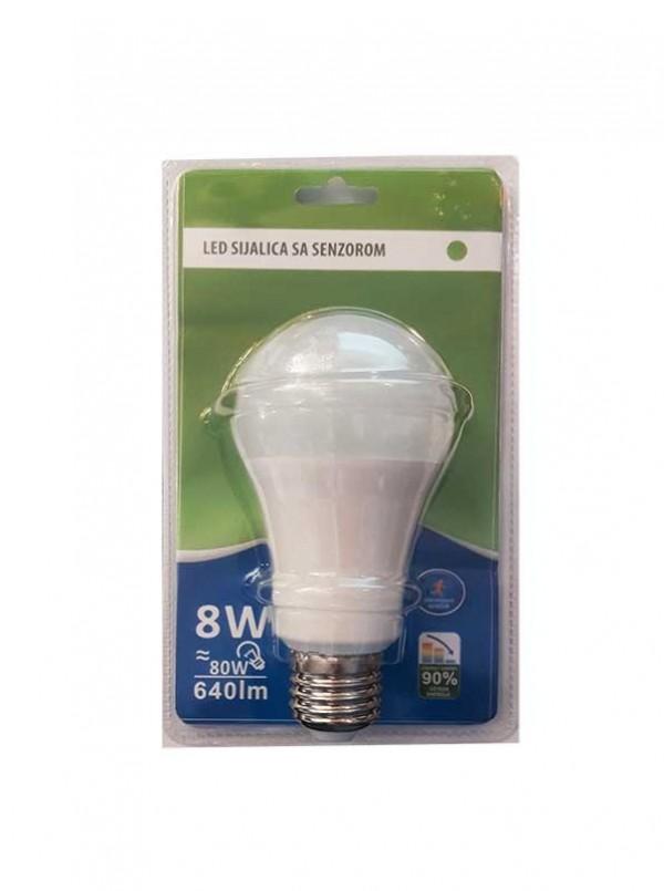 BB-LED SIJ.S11 A60 8W-4000K SENZOR-04.0505