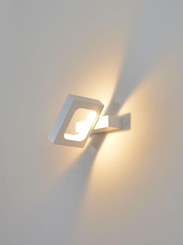 BB-LED SVET.JM-009 ZIDNA 6W 3000K BELA 05.0135