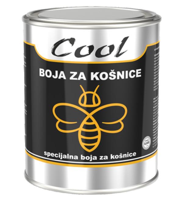COOL-BOJA ZA KOSNICE 0.65-BELA