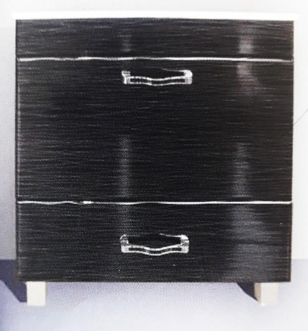 KUP.ORMARIC D 60 A PVC CRNI-SS154