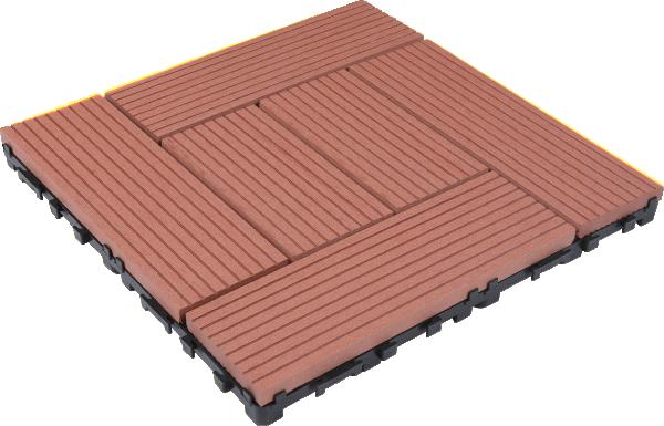 LVS-WPC PLOC.M OBLIK TAMNI TIK/ZLJEB 300X300X24mm