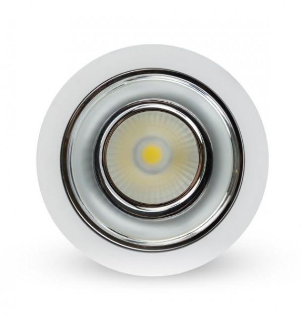 LYNCO-642000010 DWL LED 10W 6500K LUX ALU-BELI COB