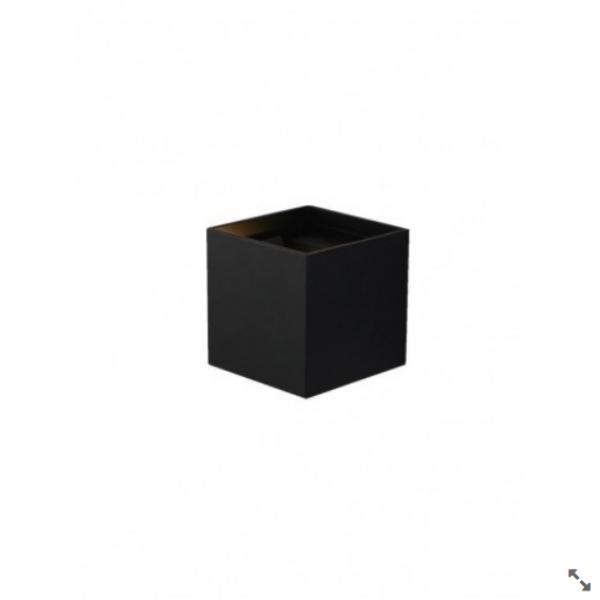 BB-LED SVET.JM-012 ZIDNA 2X3W 3000K BLACK 05.0170