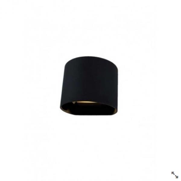 BB-LED SVET.JM-011 ZIDNA 2X3W 3000K BLACK 05.0142