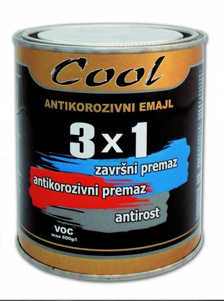 COOL-3X1 EMAJL 2.5-08 T.BRAON