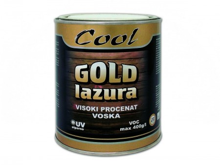 COOL-GOLD LAZURA 2.5l-8 HRAST