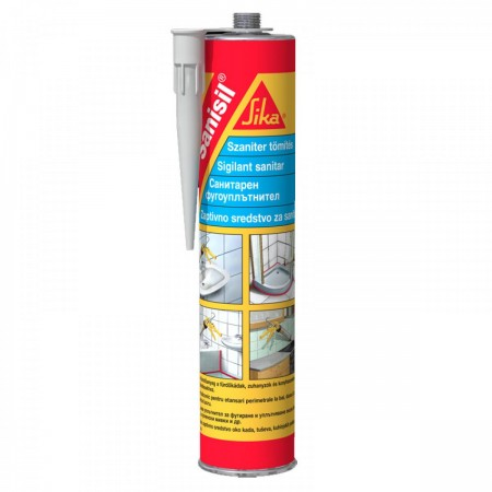 SIKA-SANISIL TRANSPARENT 300ML