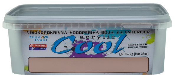 COOL-ACRLYLIC 2.5l-BRAON 16