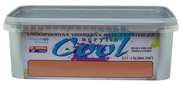 COOL-ACRLYLIC 2.5l-TERACOTTA 15