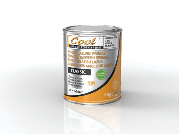 COOL-AKRILNI LAZUR CLASSIC 0.65l - 09 PALISANDER